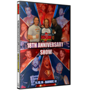 "JAPW DVD November 15, 2014 ""18th Anniversary Show"" - Rahway, NJ"