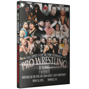 "JCW DVD April 10, 2015 ""2015 Tag Team Jersey J-Cup"" - Manville, NJ"