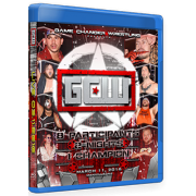 "Game Changer Wrestling Blu-ray/DVD March 11, 2016 ""GCW Championship Tournament"" - Manville, NJ"