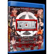 "GCW Blu-ray/DVD March 11, 2016 ""GCW Championship Tournament"" - Manville, NJ"