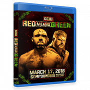 "GCW Blu-ray/DVD GCW March 17, 2018 ""Red Means Green"" - Blackwood, NJ"