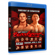 "GCW Blu-ray/DVD April 5, 2018 ""Matt Riddle's Bloodsport"" - Kenner, LA"