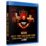 "GCW Blu-ray/DVD GCW September 8, 2018 ""Nick Gage Invitational 3: Thy Kingdom Come"" - Villa Park, IL"