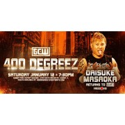 "GCW Janauary 12, 2019 ""400 Degreez"" - Summit, IL (Download)"