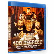 "GCW Blu-ray/DVD GCW Janauary 12, 2019 ""400 Degreez"" - Summit, IL"