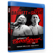 "GCW Blu-ray/DVD April 4, 2019 ""Josh Barnett's Bloodsport"" - Jersey City, NJ"