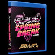 "GCW Blu-ray/DVD April 5, 2019 ""Joey Janela's Spring Break 3, Part 1"" - Jersey City, NJ"