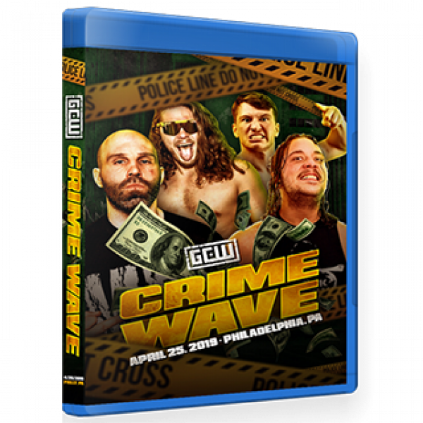 GCW Blu-ray/DVD April 25, 2019