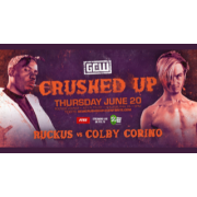 "GCW June 20, 2019 ""Crushed Up"" - Philadelphia, PA (Download)"