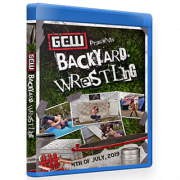 "GCW Blu-ray/DVD July 4, 2019 ""Backyard Wrestling"" - Parts Unknown, USA"