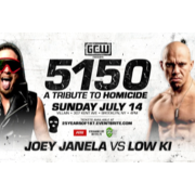 "GCW July 14, 2019 ""5150: A Tribute To Homicide"" - Brooklyn, NY (Download)"