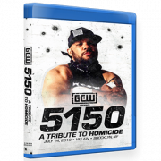 "GCW Blu-ray/DVD July 14, 2019 ""5150: A Tribute To Homicide"" - Brooklyn, NY"