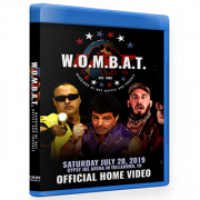 "GCW Blu-ray/DVD July 20, 2019 ""Invisible Man presents W.O.M.B.A.T"" - Tullahoma, TN"
