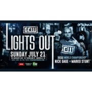 "GCW July 21, 2019 ""Lights Out"" - Nashville, TN (Download)"