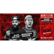 "GCW August 22, 2019 ""Worst Behavior"" - Tokyo, Japan (Download)"