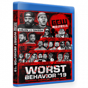 "GCW Blu-ray/DVD August 22, 2019 ""Worst Behavior"" - Tokyo, Japan"