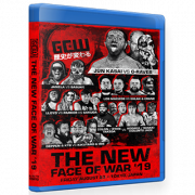 "GCW Blu-ray/DVD August 23, 2019 ""The New Face of War"" - Tokyo, Japan"