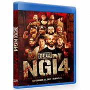 "GCW Blu-ray/DVD GCW September 21, 2019 ""Nick Gage Invitational 4"" - Summit, IL"