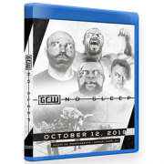 "GCW Blu-ray/DVD October 12, 2019 ""No Sleep"" - Asbury Park, NJ"