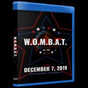 "GCW Blu-ray/DVD December 7, 2019 ""Invisible Man presents W.O.M.B.A.T 2"" - Tullahoma, TN"