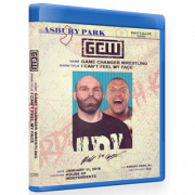 "GCW Blu-ray/DVD January 11, 2020 ""I Can't Feel My Face"" - Asbury Park, NJ"