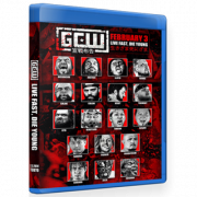"GCW Blu-ray/DVD February 3, 2020 ""Live Fast, Die Young"" - Tokyo, Japan"