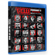 "GCW Blu-ray/DVD February 5, 2020 ""The Art Of War"" - Tokyo, Japan"