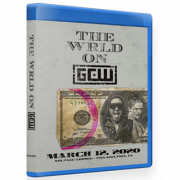 "GCW Blu-ray/DVD March 12, 2020 ""The WRLD On GCW"" -Philadelphia, PA"