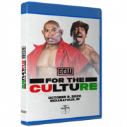 "GCW Blu-ray/DVD October 9, 2020 ""For The Culture"" - Indianapolis, IN"