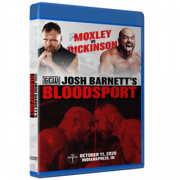 "GCW Blu-ray/DVD October 11, 2020 ""Josh Barnett's Bloodsport 3"" - Indianapolis, IN"