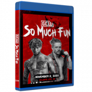 "GCW Blu-ray/DVD November 8, 2020 ""So Much Fun"" - Atlantic City, NJ"