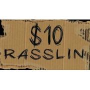 """$10 Dollar Rasslin February 27, 2016 """"Saturday Nitro"""" - Weogufka, AL (Download)"""