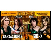 "Empress Pro Wrestling January 17, 2015 ""Escape Artists Never Die"" - High Wycombe, England (Download)"