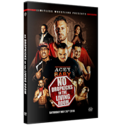 """Limitless Wrestling DVD May 28, 2016 """"No Dropkicks In The Living Room"""" – Orono, ME"""