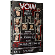 "VOW DVD September 3, 2016 ""Lord of Anarchy 2016"" - Fairmont, WV"