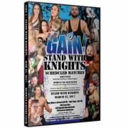 "Gain Wrestling DVD ""Gain 1: Stand With Knights"" - Berwyn, IL"