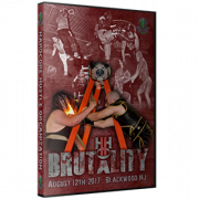 "H2O Wrestling DVD August 12, 2017 ""Brutality"" - Blackwood, NJ"