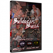 "H2O Wrestling DVD October 15, 2017 ""Bulldozer's Bash"" - Williamstown, NJ"
