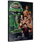 "Legacy Wrestling DVD July 1, 2017 ""Prime 1"" - Manheim, PA"