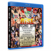 "RISE Wrestling Blu-ray/DVD November 10, 2017 ""Rise 5: Rising Sun"" - Berwyn, IL"