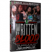 "H2O Wrestling DVD September 14, 2018 ""Written In Blood"" Williamstown, NJ"