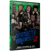 "H2O Wrestling DVD September 30, 2018 ""Opportunity Knocks 2"" - Williamstown, NJ"