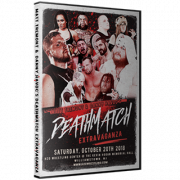 "H2O Wrestling DVD October 20th, 2018 ""Matt Tremont & Danny Havoc's Deathmatch Extravaganza"" Williamstown, NJ"