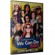 "WH2O Women's Wrestling DVD November 17, 2018 ""Anything You Can Do, We Can Do Better"" - Williamstown, NJ"