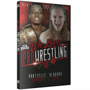 "New South DVD February 3, 2018 ""We Love Pro Wrestling 3"" - Hartselle, AL"