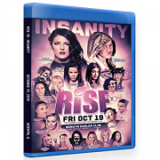 "RISE Wrestling Blu-ray/DVD October 18, 2018 ""10 - Insanity"" - Berwyn, IL"