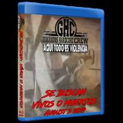 "Guanatos Hardcore Crew Blu-ray/DVD August 3, 2019 ""Se Buscan: Vivos o Muertos"" - Guadalajara, Mexico"
