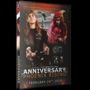 "Glory Pro Wrestling DVD February 24, 2019 ""Phoenix Rising: Anniversary"" - Collinsville, IL"