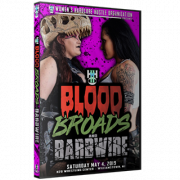 "WH2O Women's Wrestling DVD May 4, 2019 ""Blood, Broads & Barbwire"" - Williamstown, NJ"