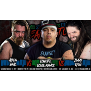 "H2O Wrestling DVD August 31, 2019 """"King Of The No Ring"" Deathmatch Tournament - Williamstown, NJ"